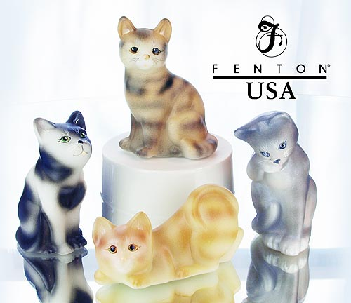 fenton cat collection
