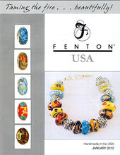2016 Fenton Made In America Jewelry
