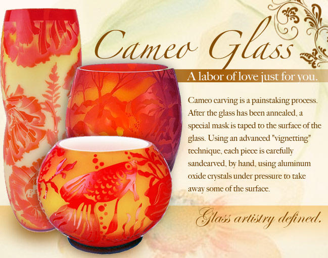 Fenton Cameo Glass