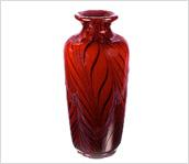 Dave Fetty  Ruby Royale Vase