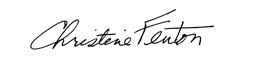 Christine Fenton Signature