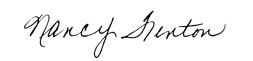 Nancy Fenton Signature